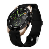 no.1 g5 gold heartrate monitor fitness tracker call sms android ios smartwatch