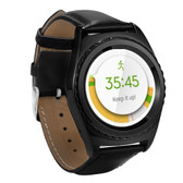 no.1 g4 black heartrate monitor tf card sim card bluetooth android smartwatch