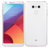 "lg g6 vs988 verizon white 4gb 32gb quad core 5.7"" screen android lte smartphone"