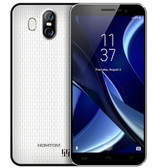 "homtom s16 white 2gb 16gb quad core 5.5"" 13mp dual sim android smartphone"