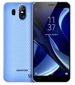 "homtom s16 blue 2gb 16gb quad core 5.5"" 13mp dual sim android smartphone"