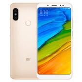"""xiaomi redmi note 5 gold 6gb 64gb octa core 5.99"""" dual sim android lte smartphone"""