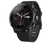 xiaomi huami amazfit sports black waterproof support gps & wifi music smartwatch