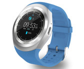 y1 bluetooth relogio blue phone call sim tf camera waterproof android smart watch