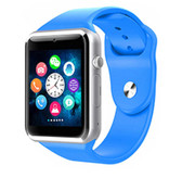 a1 bluetooth blue smart clock camera phone android ios huawei wrist smartwatch
