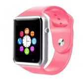 a1 bluetooth pink smart clock camera phone android ios huawei wrist smartwatch