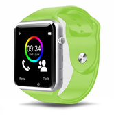 a1 children men green sim card phone camera touch screen waterproof smart watch