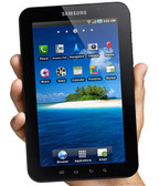 NEW IN BOX SAMSUNG P1000 GALAXY TAB FRONT BLACK - WHITE BACK COLOR