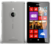 NEW NOKIA LUMIA 925 SMARTPHONE (UNLOCKED) GREY - 16GB + FREE GIFTS