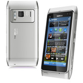 NEW UNLOCKED NOKIA N8 UNLOCKED SILVER SMARTPHONE + FREE GIFTS