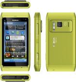 NEW UNLOCKED NOKIA N8 UNLOCKED GREEN SMARTPHONE + FREE GIFTS