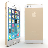 apple iphone 5s 64gb dual core 8mp gold smartphone + free gifts