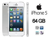 apple iphone 5 64gb white dual core 8mp camera smartphone + free gifts