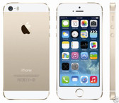 apple iphone 5s 16gb gold 8mp ios 10 multitouch smartphone + gifts