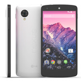 lg nexus 5 d820 16gb white quad core smartphone + free gifts