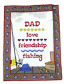 Love Friendship Fishing Sampler