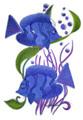 Blue Hue Bayon