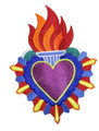 Heart  And Flames Milagro