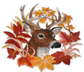 Deer in Autumn Leaves