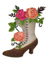 Boot with Roses