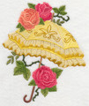 Parasol with Roses