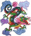 Colorful Asian Dragon