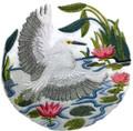 Snowy Egret Scene
