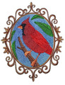 Cardinal Cameo