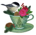 Chickadee and Christmas Tea