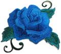 Single Rose (Blue shade )