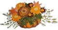 Pumpkin Floral Spray