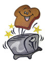 Toaster with Happy Toast