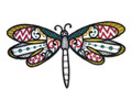 Dragonfly Dream (Blackwork) ]