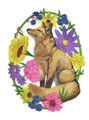Woodland Whimsy Fox Oval