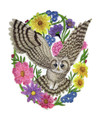 Woodland Whimsy Owl Oval