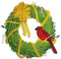 Christmas Cardinal Wreath