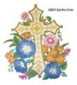 Gilded Garden Cross