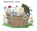 Woodland Bath Time - Hedgehog