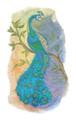 Peacock in Watercolor