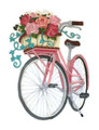 Basket of Blooms Bicycle