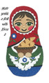Matryoshka Doll with Bread
