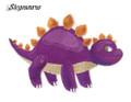 I am a Stegosaurus
