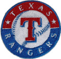 Texas Rangers Embroidery iron on patch