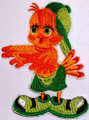 Chicken Embroidery Logo Iron On Patch