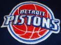 Detroit Pistons logo Iron On Patch