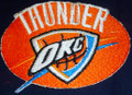 Oklahoma City Thunder logo Iron On Patch