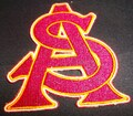 Arizona State Logo Iron On Patch