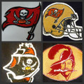 Tampa Bay Buccaneers Iron On Patches