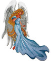 Angel with Flowing Tresses