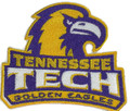 Tennessee Tech Golden Eagle logo Iron On Patch